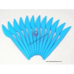 Noże jasno niebieskie 100 szt