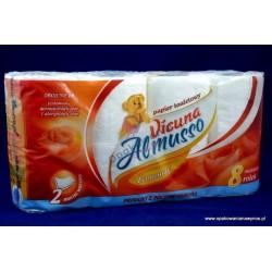Papier toaletowy Almuso Vicuna 2w 8 szt.