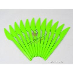 Noże jasno zielone 100 szt