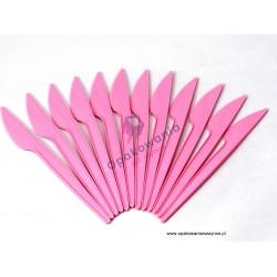 Noże różowe 100 szt