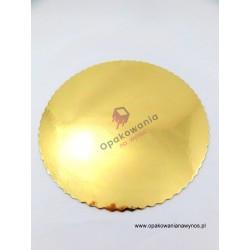Podkład złoty karbowany 24cm a'10 POLKRYS 1 szt.