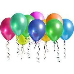Balony metalizowane kolor 100 szt.