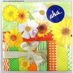 Serwetka kwiaty 13-052 20szt.