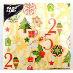 Serwetki Świąteczne PAP STAR 20szt. 82383