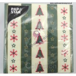 Serwetki Choinki PAP STAR 20szt.