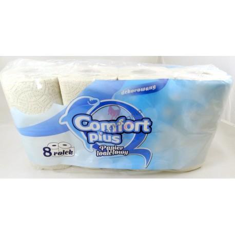 Papier toaletowy Comfort Plus 2w 8szt.