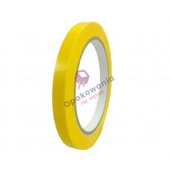Taśma PVC 12/60 żółta 1 szt