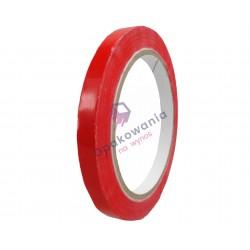 Taśma PVC 12x60 czerwona 1szt