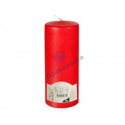 Świeca pieńkowa śr. 80mm Czerwona 1 szt.