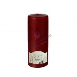 Świeca pieńkowa śr. 80mm Bordo 1 szt. 85269