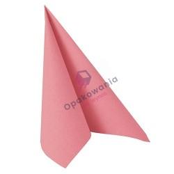 Serwetki PAPSTAR Różowa 40x40 a'50 81449