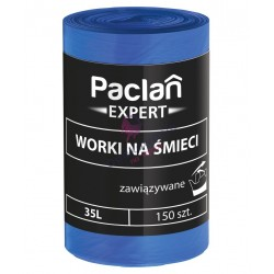 Worki 35l Paclan expert wiązane 50x60 150 szt