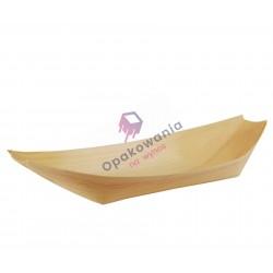 """Miseczki z drewna """"łódka"""" 25x10 50 szt 84419"""