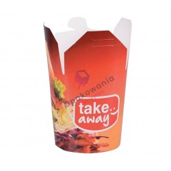 Karton Kebab Box nadruk 1000ml a'50