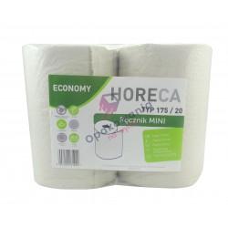 Ręcznik mini szary Horeca 175/20 4 rolki