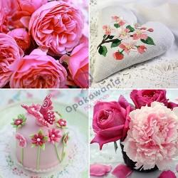 Serwetki PAPSTAR Pink Shades 3W 33x33 20 szt 86221