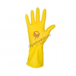 Rękawice gumowe M 1 para