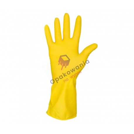 Rękawice gumowe L 1 para