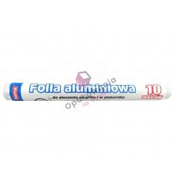 Folia aluminiowa 10m 1szt