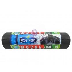 Worki 160l LD czarne/czerwone SIP 10 szt