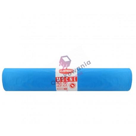 Worki 120l LD niebieskie SIP 25 szt