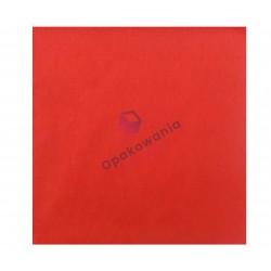 Serwetka dwuwarstwowa czerwona 33x33 (250 szt)