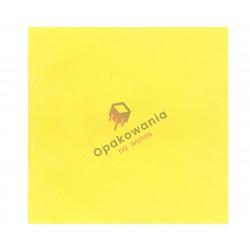 Serwetki trójwarstwowe żółte 33x33 20 szt