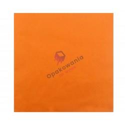 Serwetki trójwarstwowe pomarańczowe 33x33 20 szt