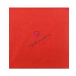 Serwetki trójwarstwowe czerwone 33x33 20 szt
