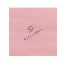 Serwetki trójwarstwowe różowe 33x33 20 szt