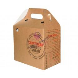 Pudełko papierowe z raczką 202x123x176 100 szt