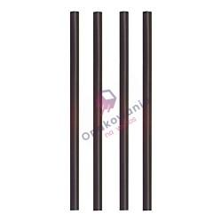 Słomki Shake PLA czarne 135 szt 87492