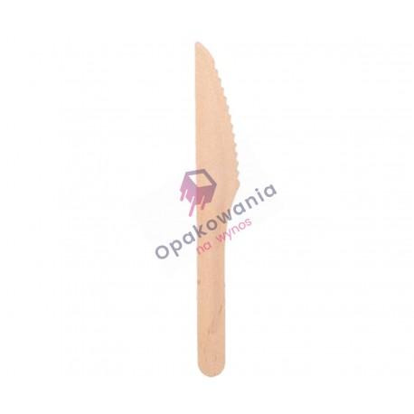 Noże z drewna KR 16,5 cm 100 szt