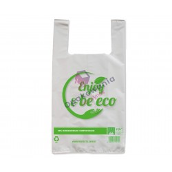 Reklamówki Bio 30x55 Enjoy&Be Eco 50szt