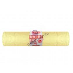Worki 120l LD a25 SIP żółte