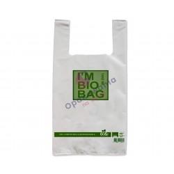 Torby Bio Skrobia 25x45 I'm Bio Bag 50szt