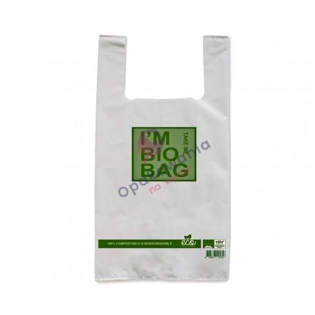 Torby Bio Skrobia 28x48 I'm Bio Bag 50szt