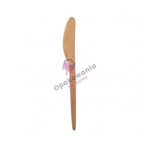 Noże z włókien drzewnych 17cm 80szt