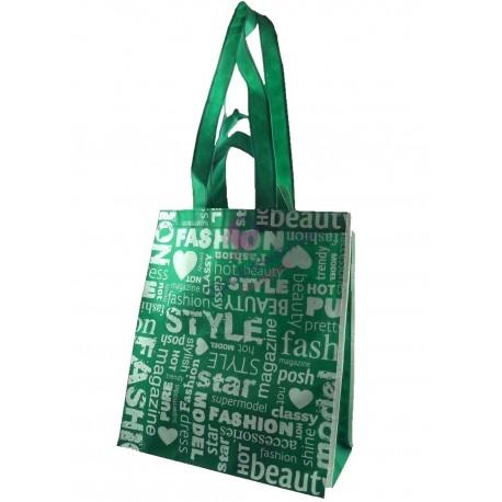 Torba eko Fashion zielona 1szt