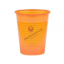 Kubek 200ml pomarańczowy PS 100szt