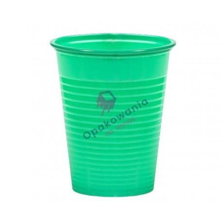 Kubek 200ml zielony PS 100szt