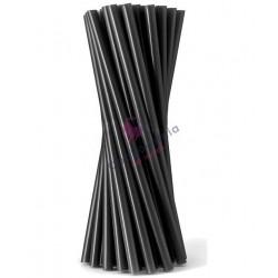Słomki proste Shake czarne 500 szt