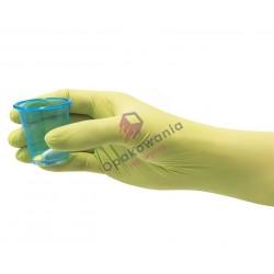 Rękawice nitrylowe S bezpudrowe lime green 50 szt