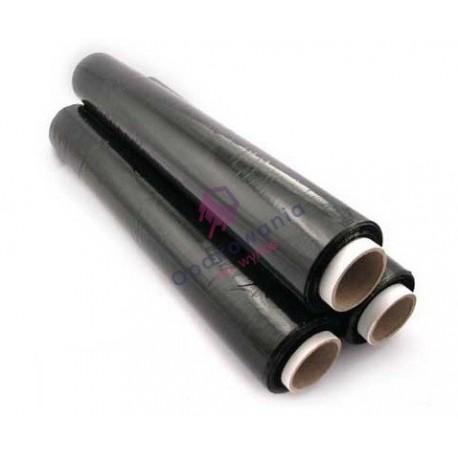 Folia stretch czarna 23my 50cm 1,70kg 1szt