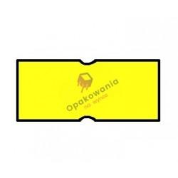 Ceny 1-rzędowe proste żółte 22x12 1szt