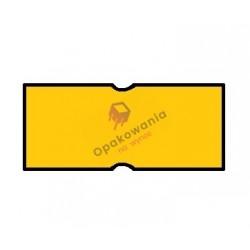 Ceny 1-rzędowe proste pomarańczowe 22x12 1szt