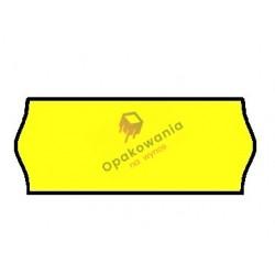 Ceny 1-rzędowe fala żółte 26x12 1szt