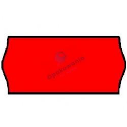 Ceny 2-rzędowe fala czerwone 26x16 1szt