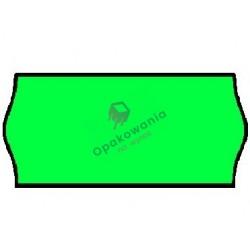 Ceny 2-rzędowe fala zielone 26x16 1szt
