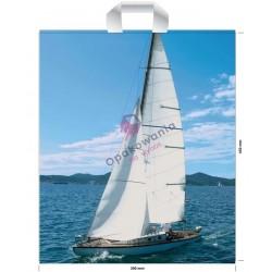 Reklamówki LDPE 39x45 Jacht 51my 10szt